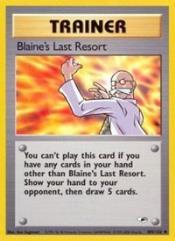 Blaine's Last Resort (U) #105