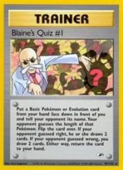 Blaine's Quiz #1 (R) #97