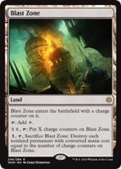 Blast Zone (R) (Foil)