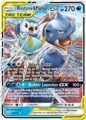 Blastoise & Piplup GX (Ultra R) #38/236 (Holo)