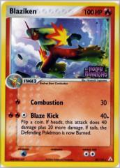 Blaziken (R) #20 (Ex Holon Phantoms) (Foil)