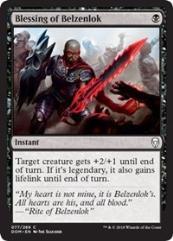 Blessing of Belzenlok (C) (Foil)