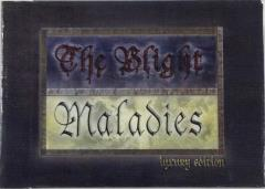 Blight Maladies GM Reference Deck (Luxury Edition) (D&D 5e)
