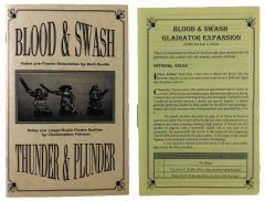 Blood & Swash/Thunder & Plunder (1st Edition) w/Gladiator Expansion