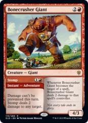 Bonecrusher Giant // Stomp (R) (Foil)