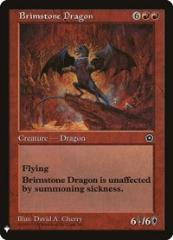 Brimstone Dragon (R)