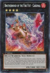 Brotherhood of the Fire Fist - Cardinal (Secret Rare)
