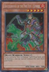 Brotherhood of the Fire Fist - Coyote (Secret Rare)