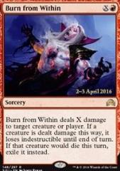Burn from Within (P) (Foil)