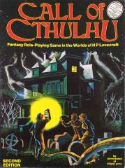 Call of Cthulhu (2nd Edition, Games Workshop Edition)