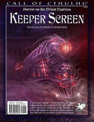 Keeper's Screen - Horror on the Orient Express