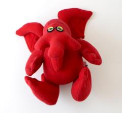 Mythos Monsters - Cuddly Cthulhu Plush - Small (Red)