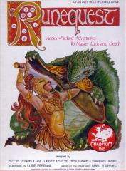 RuneQuest (2nd Edition, 2nd Printing, Thin Box)