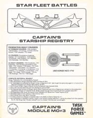 Captain's Master Ship Chart