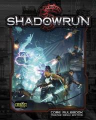 Shadowrun (5th Edition, 2nd Printing, Original Cover w/Master Index)