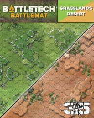 Battle Mat - Grasslands Desert