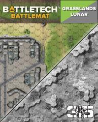 Battle Mat - Grasslands Lunar