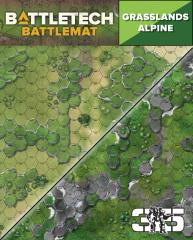 Battle Mat - Grasslands Alpine