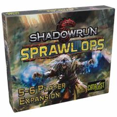 Shadowrun - Sprawl Ops, 5-6 Player Expansion