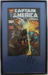Captain America Annual #8 w/Wolverine (Framed)