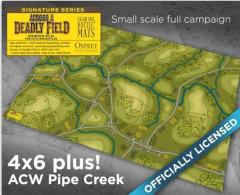 Across a Deadly Field - Pipe Creek Campaign Map