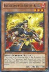 Brotherhood of the Fire Fist - Raven (Common)