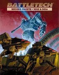Record Sheets 3025 & 3026