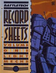 Record Sheets #1 - Light Mechs