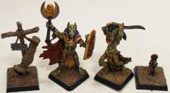 Anubi & Basti Crypt Lords w/Accessories