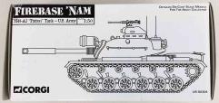 """Firebase 'Nam - M48-A3 """"Patton"""" Tank (1:50)"""