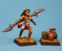 Female Basti Hero w/Market Items