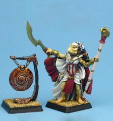 Heru War-Maiden w/Gong