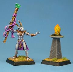 Priestess of Khanum w/Fire Stand