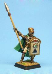 Spearman Captain w/Weapon Sprue