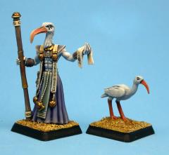 Priest of Thoth w/Sacred Ibis