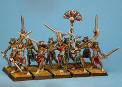 Female Basti Skirmishers Unit