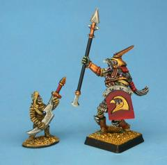 Heru Crypt Lord w/Weapon Bearer