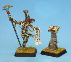 Tomb Queen Crypt Lord w/Bookstand