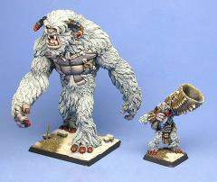Abominable Snowbeast & Summoner (Metal)