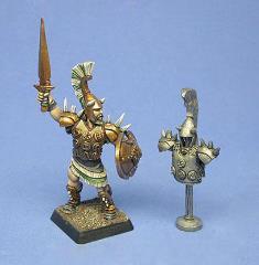 Mycenaean Hero w/Armor Rack