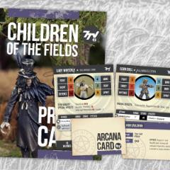 Children of the Fields Profile Cards