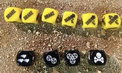 7TV Apocalypse Skid & Crash Dice (10)