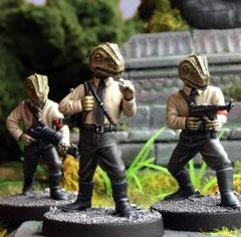 Lizard Nazi Soldiers (2nd Printing)