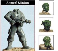 Minions - Armed w/Alien Heads
