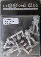 Lawmen w/Pistols