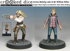 Action Melody Lake & Mr William Killan
