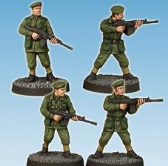 Army Privates w/Rifles