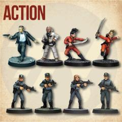 Action Starter Cast (1st Printing)