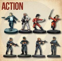 Action Starter Cast (2nd Printing)