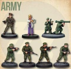 Army Starter Cast (2nd Printing)
